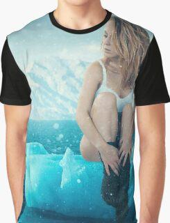 Polar Escape with Glacier Girl Graphic T-Shirt