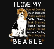 i love beagle  Unisex T-Shirt