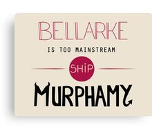 Bellarke is too mainstream Canvas Print
