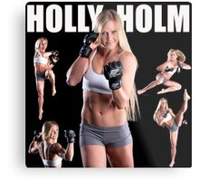 HOLY HOLM UFC CHAMPION Metal Print