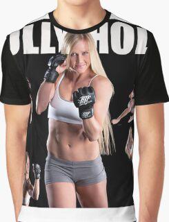 HOLY HOLM UFC CHAMPION Graphic T-Shirt