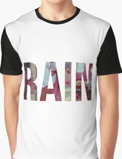 Kim Taeyeon - Rain Graphic T-Shirt