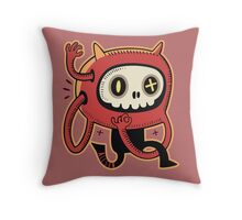 Dead man runner Throw Pillow