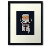 Assassin Sloth Framed Print