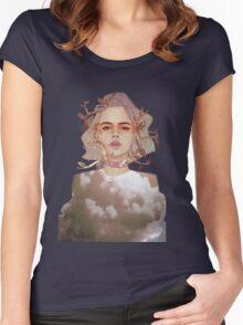 ROSEBUD Women's Fitted Scoop T-Shirt