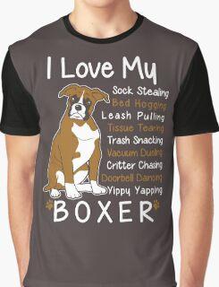 i love my boxer Graphic T-Shirt