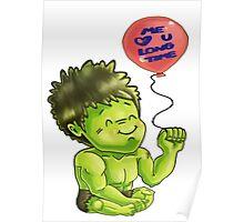 Hulk SMOOCH Poster