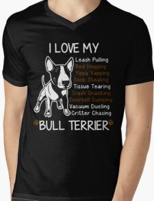 i love my bull terrier T-Shirt