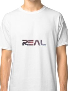 REAL Space Print Classic T-Shirt
