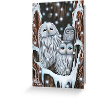 Winter's Home Greeting Card