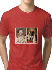 Bavarian King Ludwig II Tri-blend T-Shirt