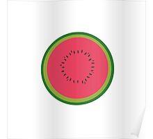 halved melon  Poster