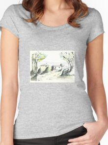 TuscanY '57 Women's Fitted Scoop T-Shirt