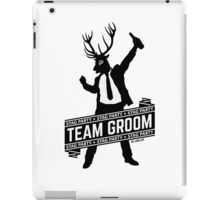 Team Groom / Stag Party iPad Case/Skin
