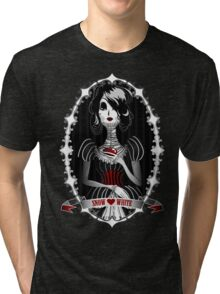 Gothic Snow White Tri-blend T-Shirt