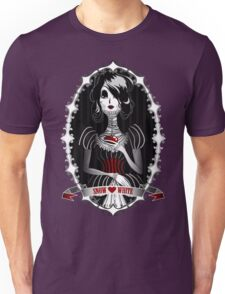 Gothic Snow White Unisex T-Shirt