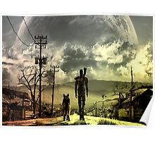 Fallout Lone Wanderer Poster