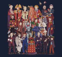 The party doesn't start until the Doctor walks in...twelve times One Piece - Long Sleeve
