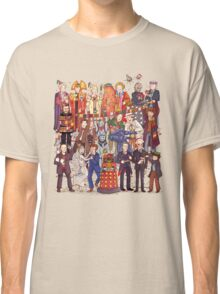 The party doesn't start until the Doctor walks in...twelve times Classic T-Shirt