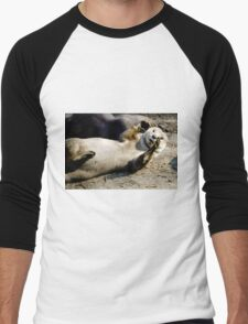 Otter Men's Baseball ¾ T-Shirt