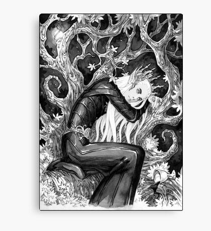 Sad elf Canvas Print