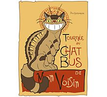 Le Chat bus Photographic Print