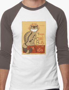 Le Chat bus Men's Baseball ¾ T-Shirt