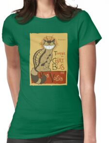 Le Chat bus Womens Fitted T-Shirt