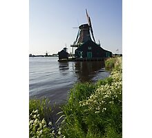 The Iconic Windmills of  Holland  Photographic Print