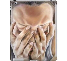 I want to be brave, not fade away. iPad Case/Skin