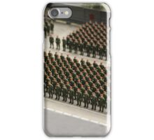 Special Forces parade ground iPhone Case/Skin