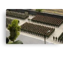 Special Forces parade ground Canvas Print