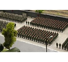 Special Forces parade ground Photographic Print