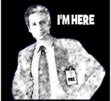 Mulder is Here Photographic Print