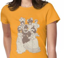 Vintage Ladies APRICOT Womens Fitted T-Shirt