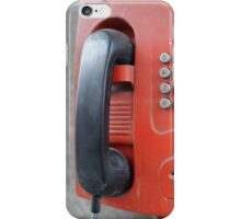 street payphone iPhone Case/Skin