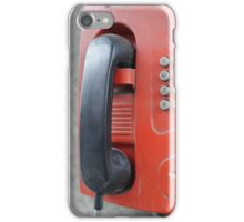 street payphone iPhone Case/Skin