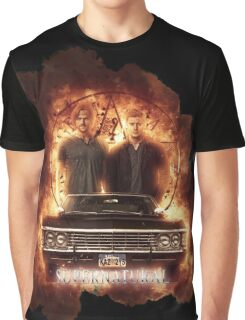 Supernatural Explosion 3 Graphic T-Shirt