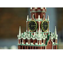 golden chimes in the tower Photographic Print
