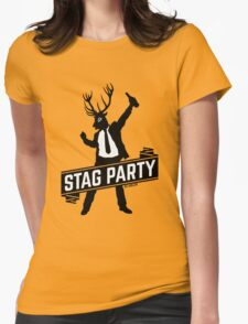 Stag Party / Bachelor Party Womens Fitted T-Shirt