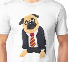 Pug in business suit Unisex T-Shirt