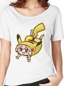 Um4ru x P1k4chu Women's Relaxed Fit T-Shirt
