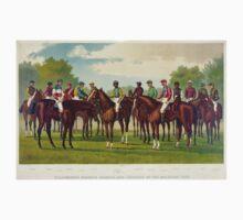 Celebrated winning horses and jockeys of the american turf - 1889 - Currier & Ives Kids Tee