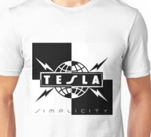 logo tesla band tour dates Unisex T-Shirt