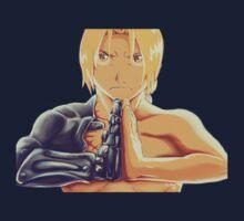 Fullmetal Awesomeness (Digital Painting of Edward Elric from the Manga/Anime Fullmetal Alchemist)  Baby Tee