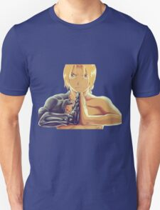 Fullmetal Awesomeness (Digital Painting of Edward Elric from the Manga/Anime Fullmetal Alchemist)  T-Shirt