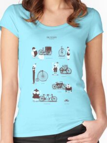 Meet The Cyclists Women's Fitted Scoop T-Shirt