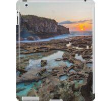 Sunrise over the Rockpools iPad Case/Skin