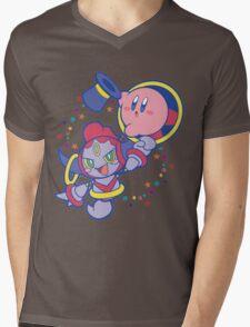 Hoopa and Kirby Mens V-Neck T-Shirt