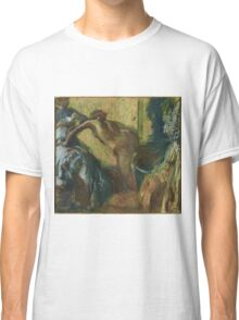 Edgar Degas - After the Bath , Impressionism Classic T-Shirt